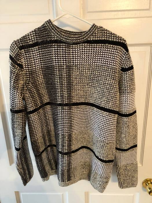 6f3fd31e47b0 Alexander Wang Check-knit Cotton Blend Jacquard Size m - Sweaters ...
