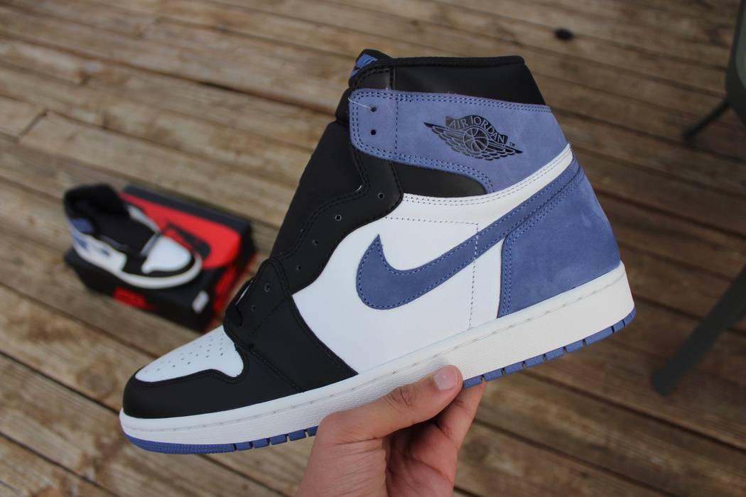 Jordan Brand Nike Air Jordan 1 Blue Moon Deadstock Size 13 - Hi-Top ... 4d4ae73dd