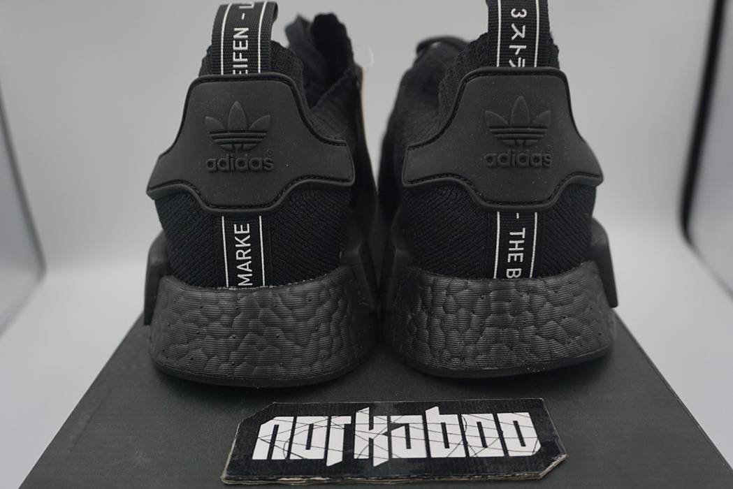 the best attitude 76e76 68348 Adidas Adidas NMD R1 PK Japan Triple Black Primeknit Boost BZ0220 Size US  11.5   EU