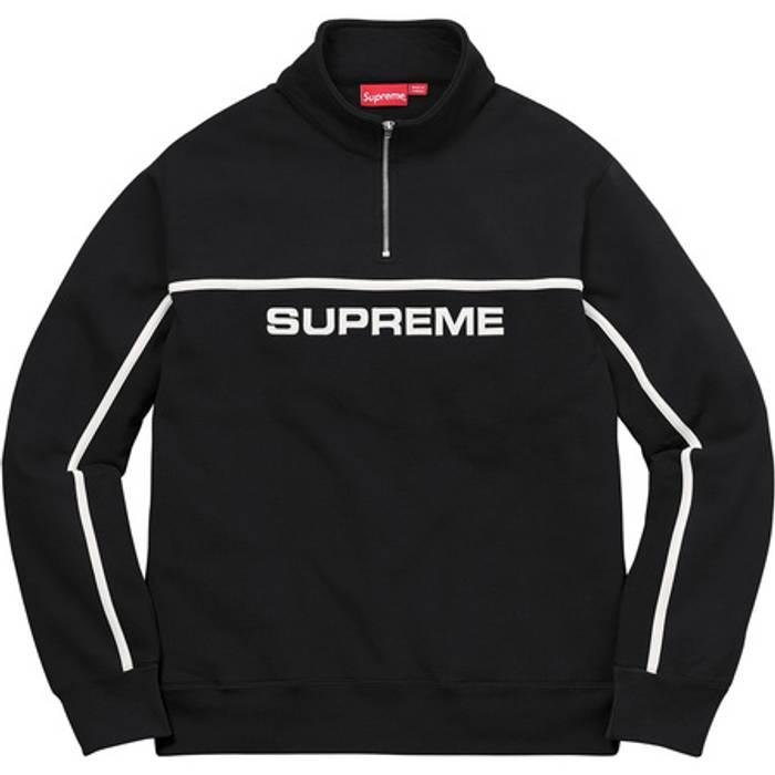 1c42344a93c4 Supreme Supreme 2-Tone Half Zip Sweatshirt Size m - Sweatshirts ...