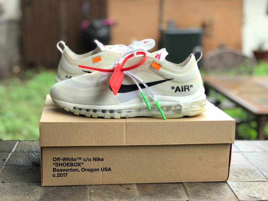 1a9e212ac9e Nike Off White Air Max 97 Size 9 - Low-Top Sneakers for Sale - Grailed