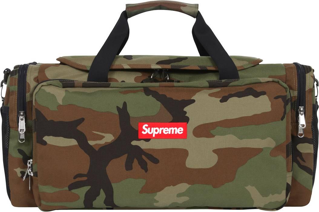 Supreme Camo Duffle Bag Size One