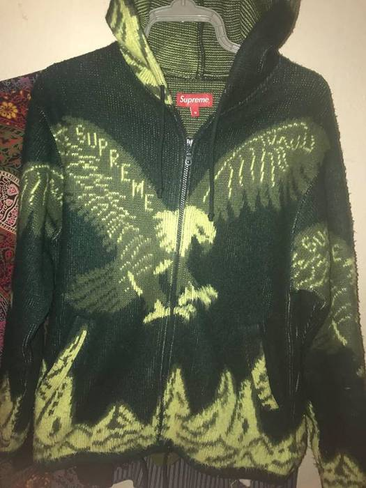 Supreme Supreme Eagle Hooded Zip Up Sweater Size US M / EU 48-50 /
