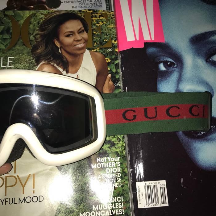 e6fc98edc5f71 Gucci Gucci Ski Goggles Size one size - Sunglasses for Sale - Grailed