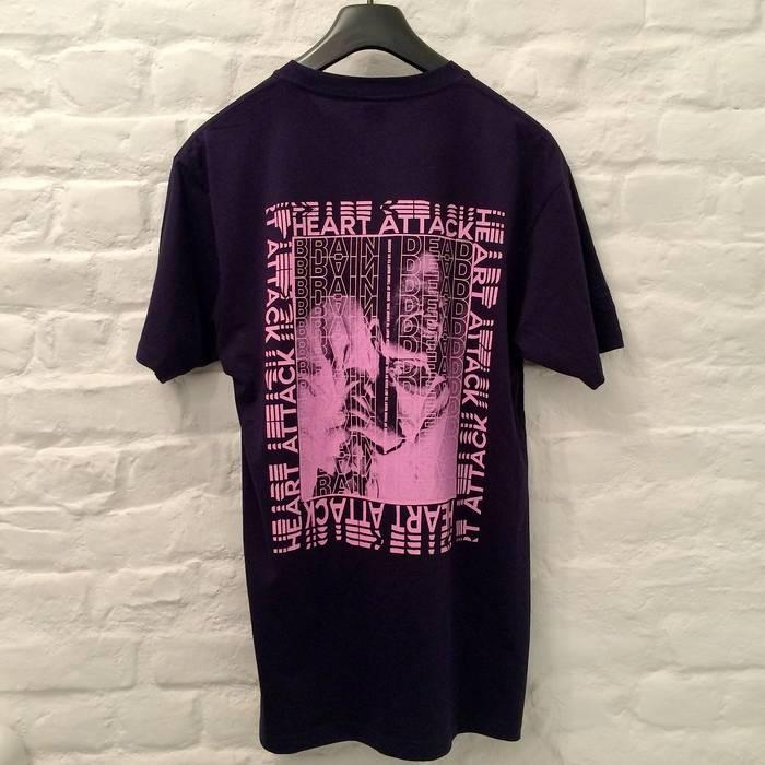Brain Dead Brain Dead Heart Attack T Shirt In Purple Size M Short