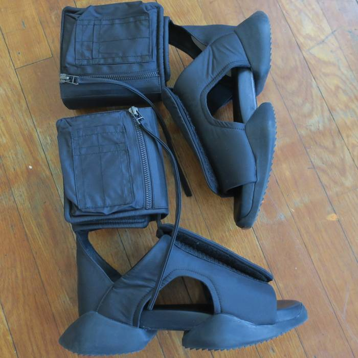 98ac3eaa9669 Adidas Rick Owens x Adidas Cargo Sandals Size 7 - Sandals for Sale ...