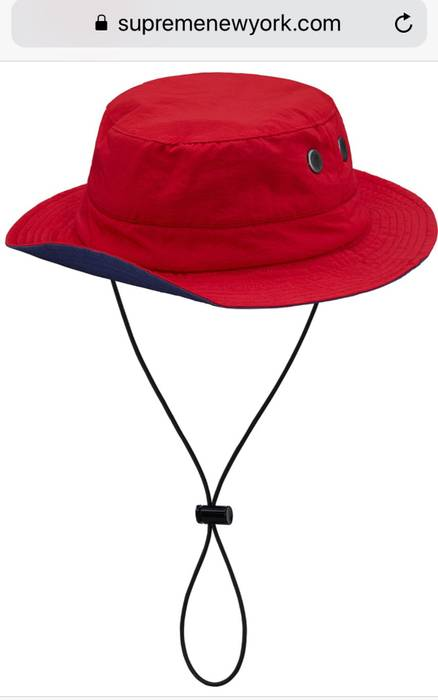 Supreme Supreme Contrast Boonie Hat Red M L Size one size - Hats for ... 600a56241f8d