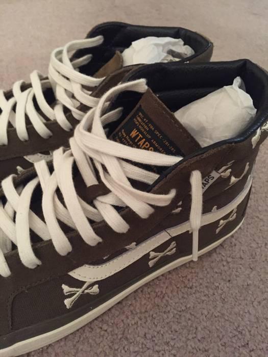 897eb661e2902d Vans Vans Sk8-Hi WTAPS Olive Crossbones Size 11 - Hi-Top Sneakers ...