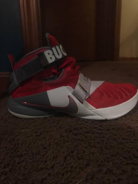 5fb8204b9641 Nike Lebron Soldier 9 Buckeye State Edition Size 8 - Hi-Top Sneakers ...