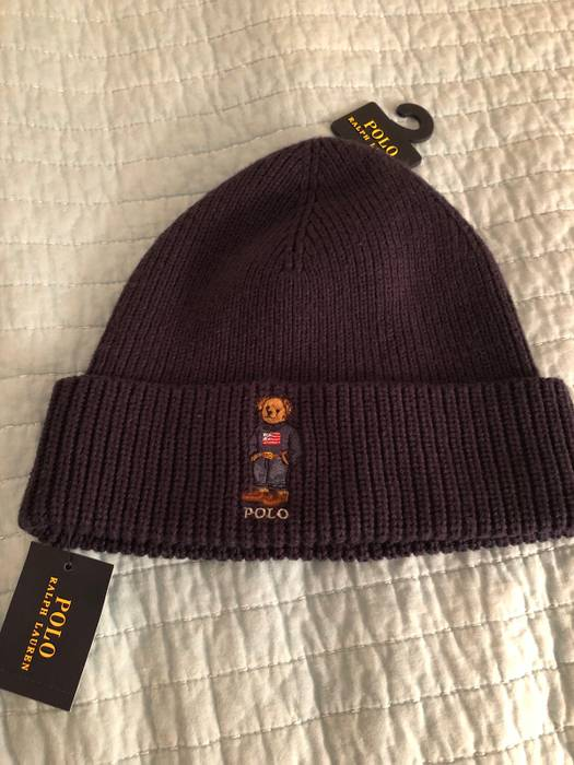 Polo Ralph Lauren Polo Ralph Lauren Mens Polo Bear Cuffed Hat Size ONE SIZE eb2d925d308