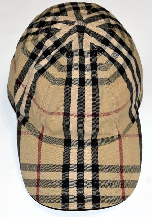Burberry AUTHENTIC BURBERRY LONDON BASEBALL CAP CASUAL HAT NOVA ... 29c22836d9f
