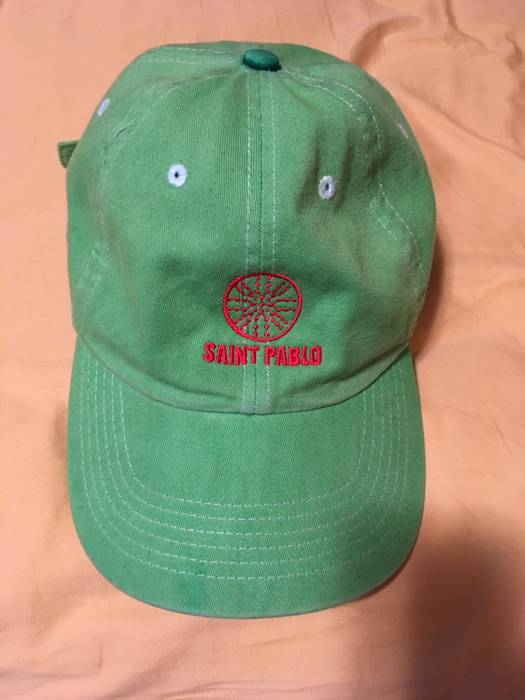 Kanye West Life Of Pablo Tour Merch Dad Hat Green Size one size ... c32020fa8ff8