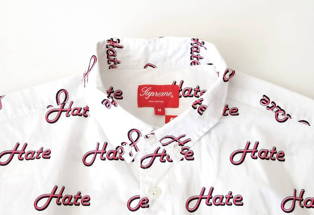 Supreme Supreme Hate Shirt Size m - Shirts (Button Ups) for Sale ... b282fd1d4