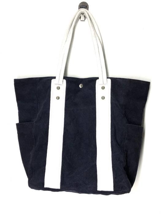 94a7dfcd24d Yohji Yamamoto. Yohji Yamamoto Japan Y saccs Denim Tote Bag Shopper Bag