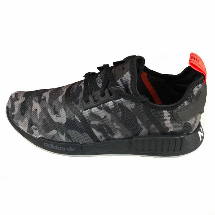 Adidas NMD R1 NYC - Black Camo   Red Size 11 - Low-Top Sneakers for ... 0884f500e