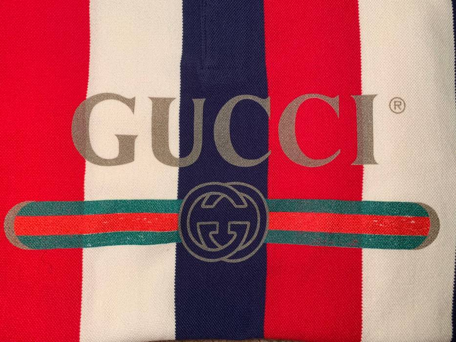 Gucci Gucci Logo Baiadera Polo Size M Polos For Sale Grailed