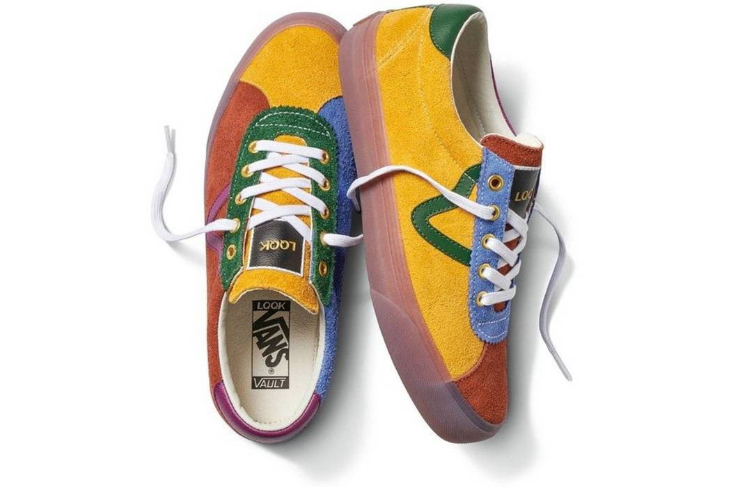 Vans Vault by Vans x LQQK Studio Epoch Sport LX Sneakers Multicolor Size US  10   ebaee6946