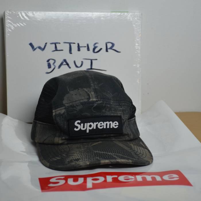 994397cc942 Supreme Black Forest Camo 5 Panel Camp Hat Cap Size one size - Hats ...
