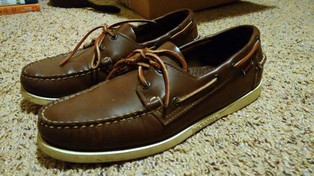 94ff266c44 Sebago Docksides Boat Shoes FINAL Size 9 - Casual Leather Shoes for ...