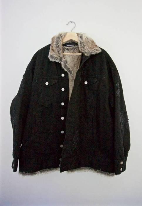 21ac2b5a16ad Misbhv faux fur denim jacket Size l - Denim Jackets for Sale - Grailed