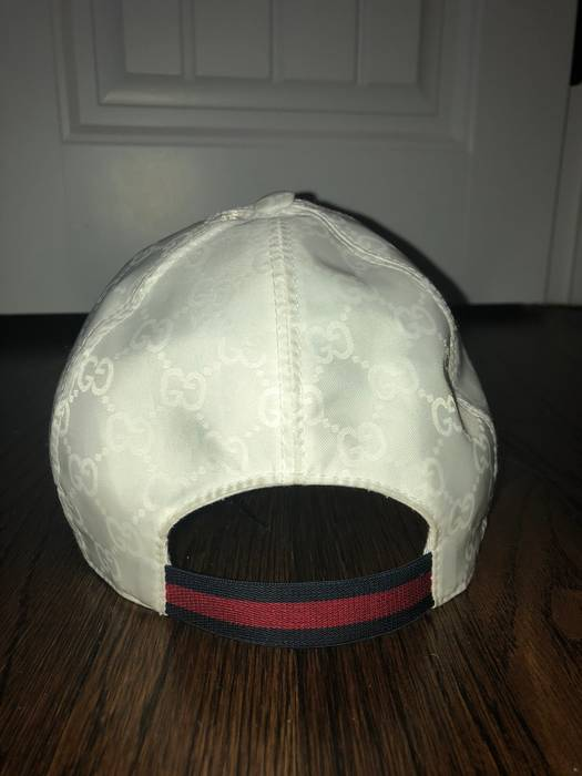 Gucci White 3M Gucci Hat Size one size - Hats for Sale - Grailed 4fd3cd68017