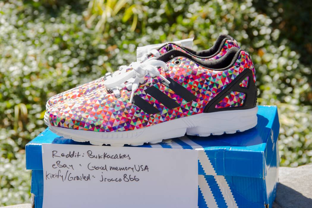 c4093aee19b30a Adidas ZX Flux Prism Size 10.5 - for Sale - Grailed