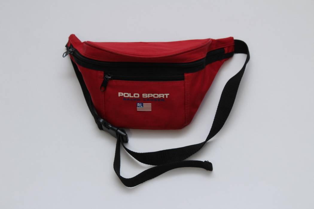 Polo Ralph Lauren !EXCLUSIVE! Polo Ralph Lauren Sport Waist Bag 90S ... 5f2c1d1ed5176