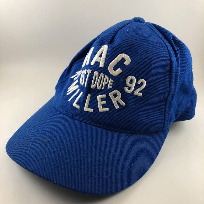 f62bc3a9 ... where can i buy mac miller official mac miller most dope 1992 thumbs up  blue snapback ...