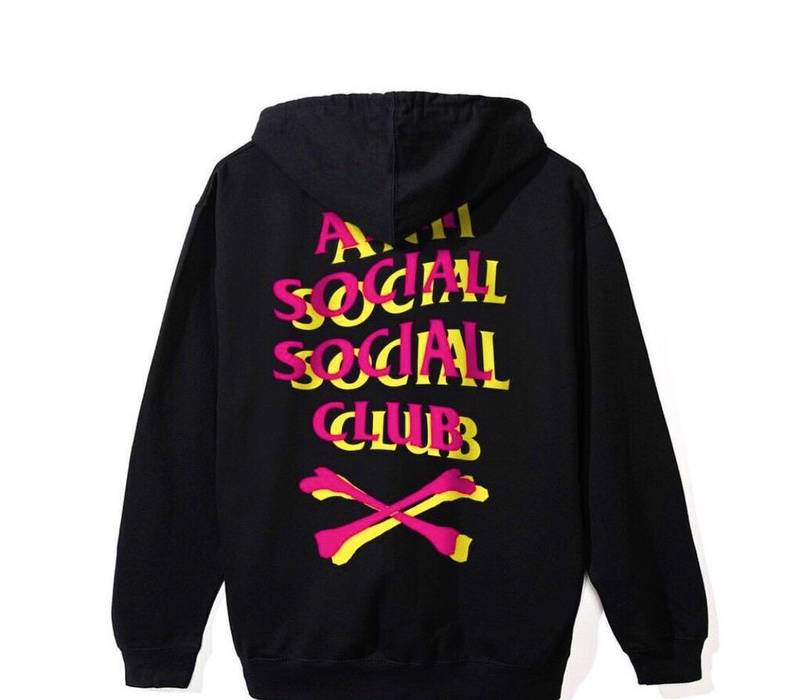 dee624a4559a Antisocial Social Club ASSC x COMMISSARY Hoodie Size l - Sweatshirts ...