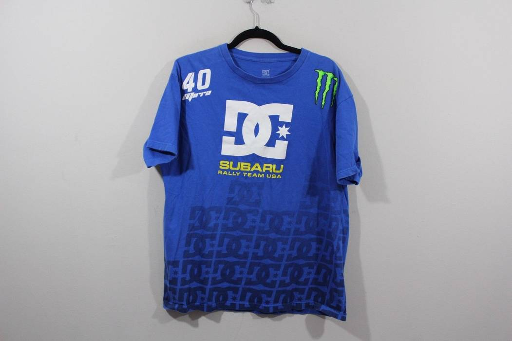 Dc Rare Dc Shoes Mens Large Dave Mirra 40 Subaru Rally Team Monster
