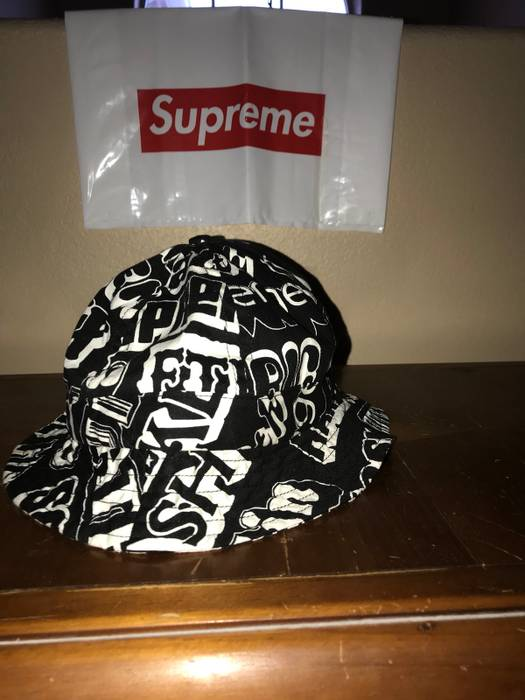 Supreme Supreme Hysteric Glamour Bucket Hat Size one size - Hats for ... 784dec44b11c