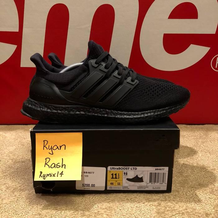 db443fe3eb6 Adidas Ultra Boost 1.0 LTD Triple Black (BB4677) Size 11.5 - Low-Top ...