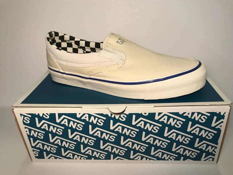 Vans VANS VAULT OG CLASSIC SLIP-ON LX INSIDE OUT CHECKERBOARD Size ... 6b1fe274c