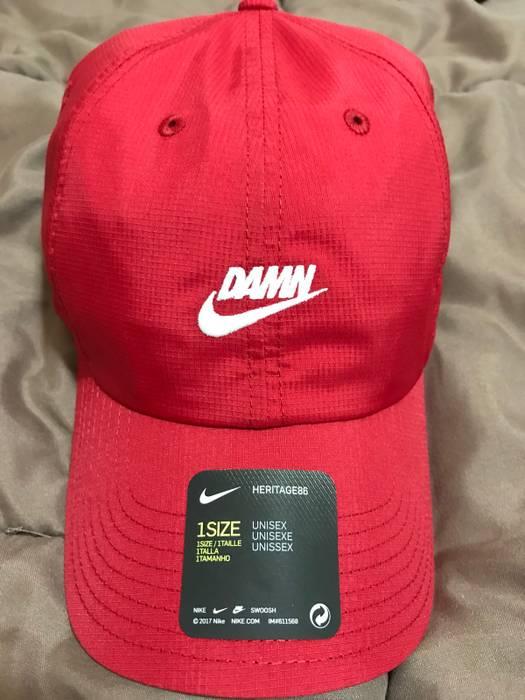 Nike Nike x TDE Championship Tour Pop Up DAMN Hat Red Kendrick Lamar Size  ONE SIZE ccd68b3f0b7