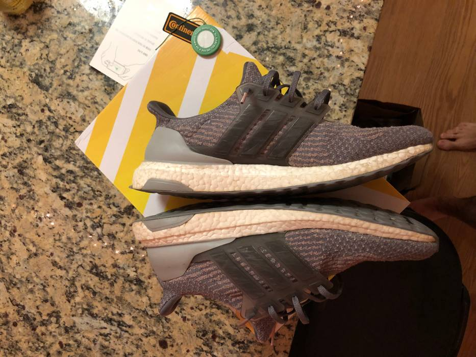 9bc95ee896467 Adidas Ultra boost 3.0 Grey Four Trace Pink Size US 12   EU 45 - 3