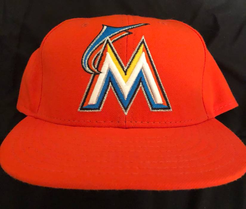 New Era Miami Marlins Hat 7 1 4 Size one size - Hats for Sale - Grailed 7deaabd379a