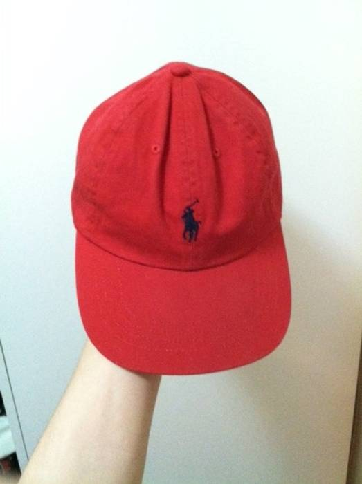 Ralph Lauren Red Polo Cap Size one size - Hats for Sale - Grailed ee3d2efcdca2