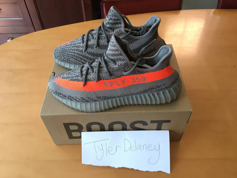 2640686be68e3 Adidas Kanye West Yeezy Boost 350 V2 Beluga Size 10 - Low-Top ...