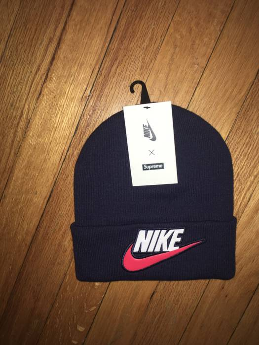 Supreme Supreme X Nike FW18 Beanie Navy Size one size - Hats for ... 7a8bc4b12c9e
