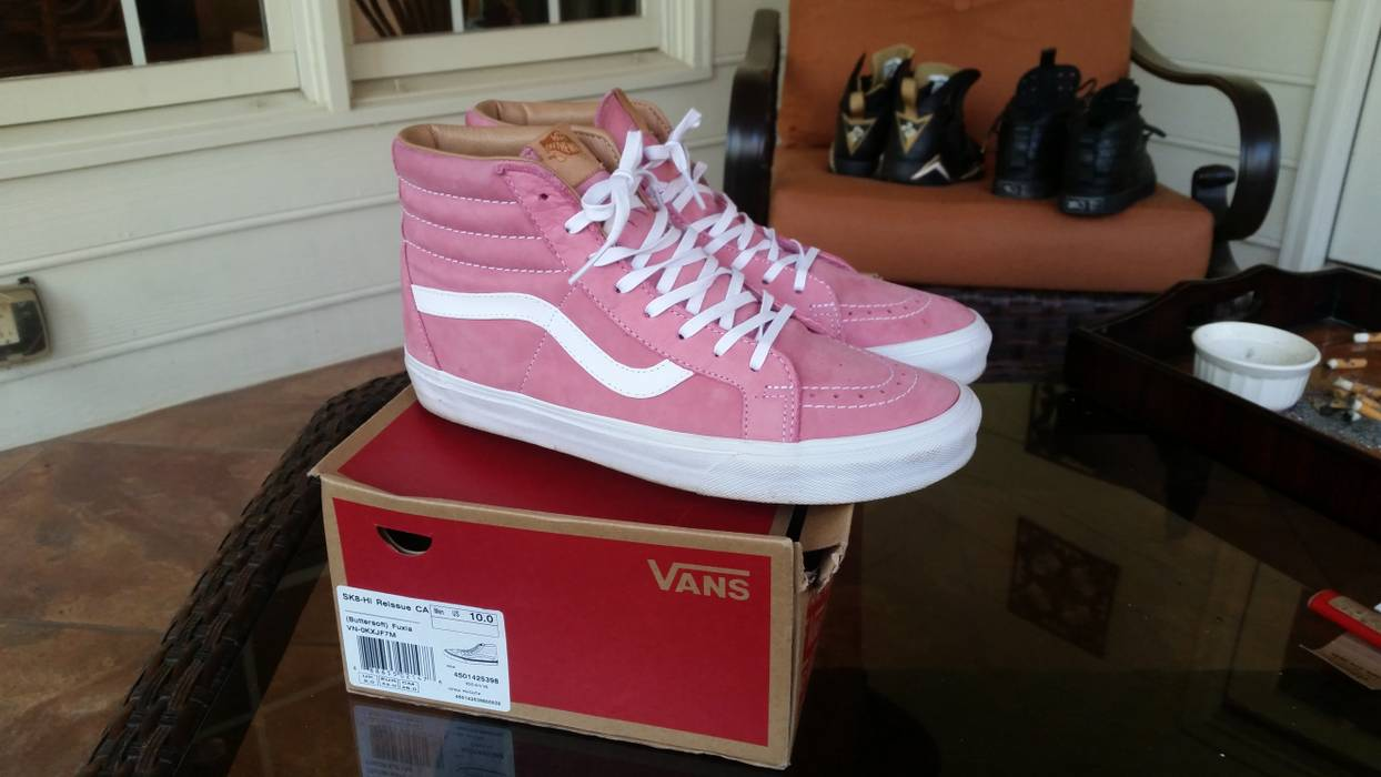 Vans SK8-Hi reissue buttersoft fuxia Size 10 - Hi-Top Sneakers for ... 67299f6bb4