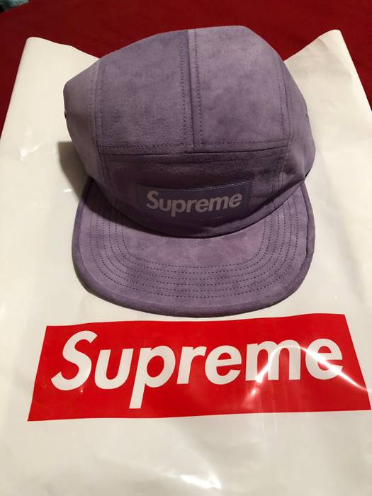 6432996614f9 Supreme Suede Camp Cap Size one size - Hats for Sale - Grailed