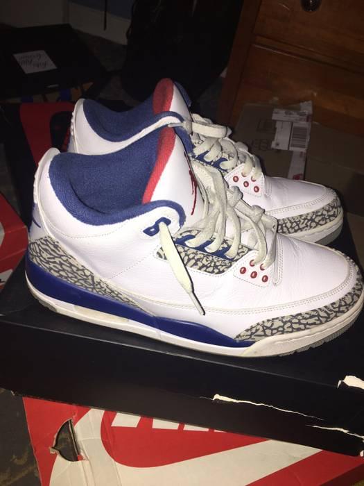 Jordan Brand Air Jordan 3 Retro OG True blue Size 10 - Low-Top ... 9fac903dd
