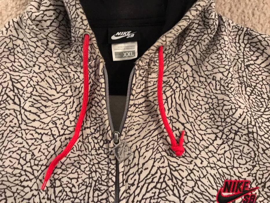 Nike Nike SB Hoodie Elephant print Cement Hoodie Jordan III Size US XXL    EU 58 c9fe7226a