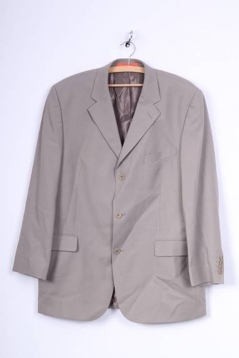 66a696655bb1a Ted Baker. Ted Baker Accelerated Mens 44R XL Blazer Jacket Grey Single  Breasted Wool 3457. Size  44R