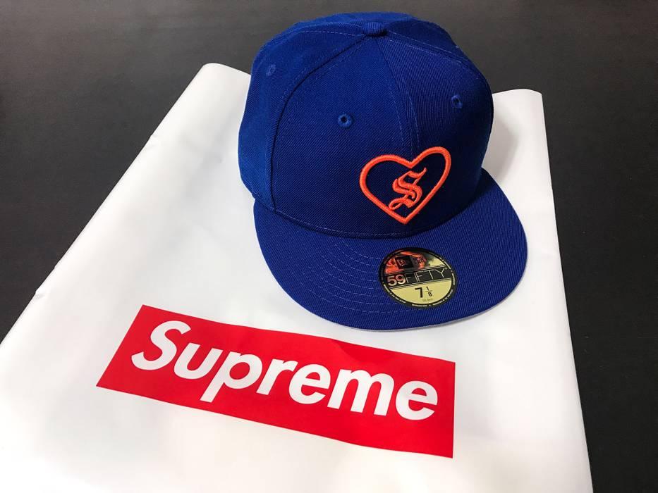 Supreme Heart New Era Cap Royal 59Fifty 7 1 8 Cap Size one size ... 448e25fb843