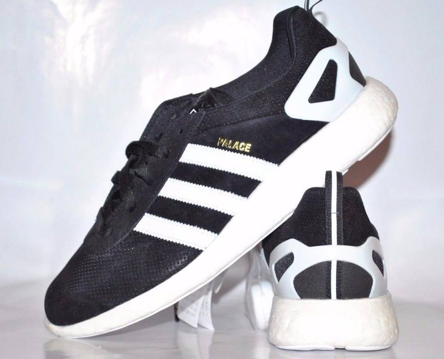 Adidas ADIDAS X PALACE PRO BOOST 11.5US Core Black   White Size US 11.5   b357a3b6f