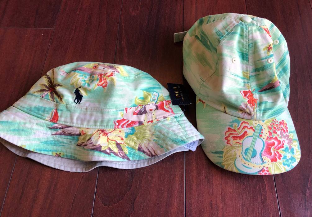Polo Ralph Lauren Polo Bucket Hat And Dad Hat (set of both) Size one ... d985202df7de