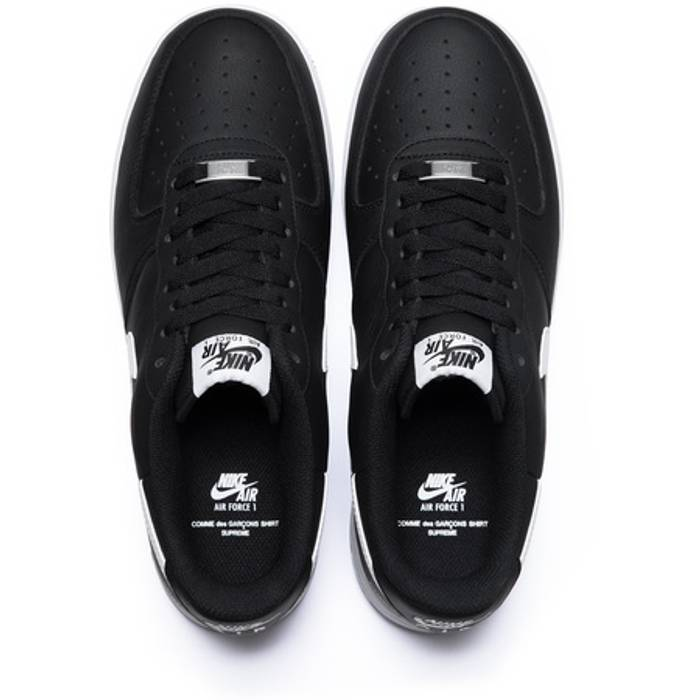 680f0d1d443fd0 Supreme Supreme CDG Air Force 1 Low   FREE SHIPPING   FW18 dead stock comme  des garcons air ...