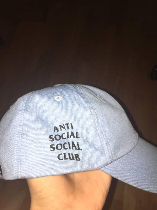 Antisocial Social Club Baby Blue Anti Social Social Club Hat Size ... af1abb8f7d1