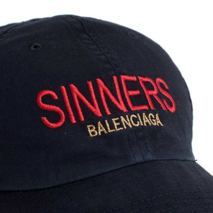 138a16310868f Balenciaga Black  Sinners  Baseball Cap Size one size - Hats for ...